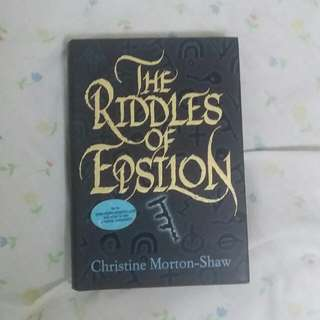 The Riddles of Epsilon by Christine Morton-Shaw