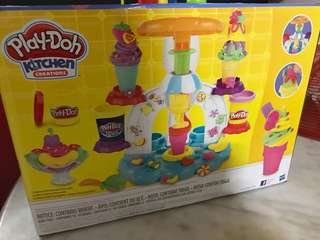 Play dough kitchen creations