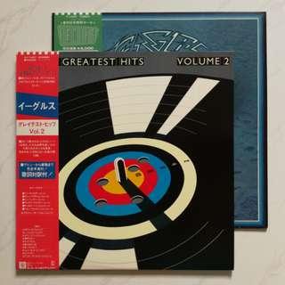 Eagles original LP record greatest hits