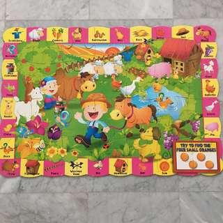 Giant Puzzles 28pcs (Used) + 1 Free