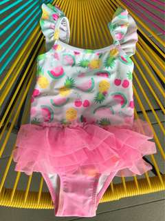 Mothercare Swimsuit - fruits printed