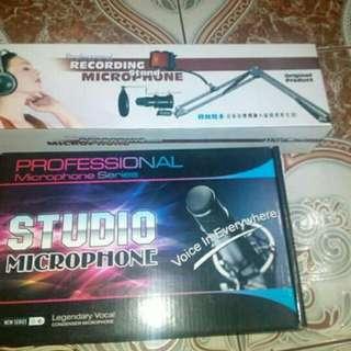 Professional microphone condenser