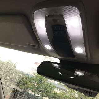 Volvo interior light