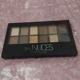Eyeshadow The Nudes Maybelline