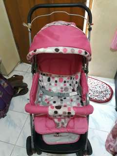Giant Carrier stroller Pink