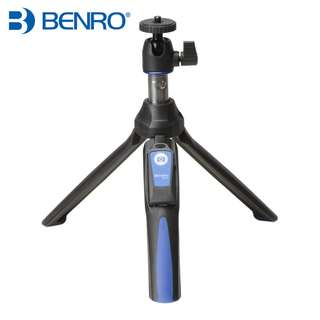 Benro MK10 Handheld Mini Tripod Monopod 3 in 1 Phone Selfie Stick Wireless Bluetooth Remote Shutter for Smartphone / Gopro