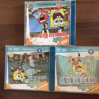 Spongebob CDs