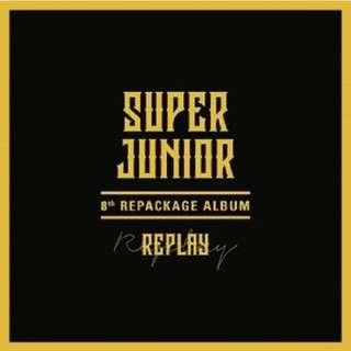 [PRE ORDER] SUPER JUNIOR 8th REPACKAGE ALBUM 《REPLAY》