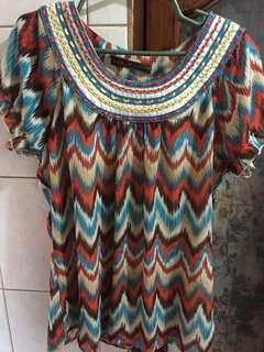 Samlin Aztec top