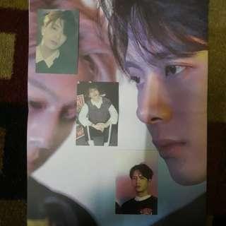 WTT GOT7 Jackson, Yugyeom and Youngjae Eyes On You Lyrics Poster and Photocard/PC