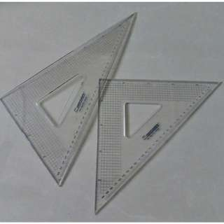 30cm triangle set with cover
