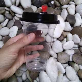 500pcs 370ml plastic cups