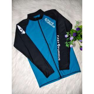 FF RashGuard Top with front zip