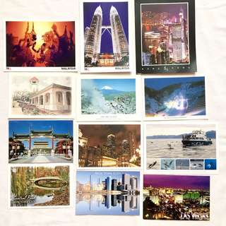 Postcards from Various Countries