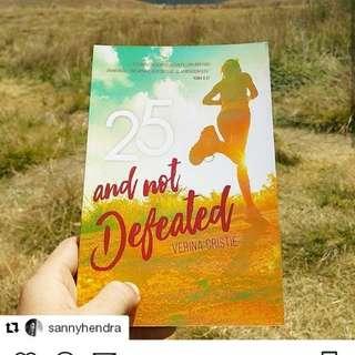 25 and not defeated - buku renungan saat teduh