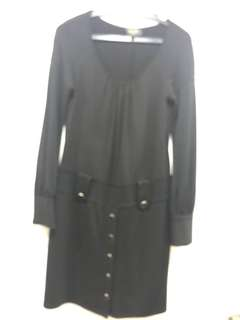 Quality black dress, office or evening wear