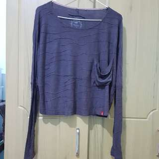 Esprit frill long sleeved sweater