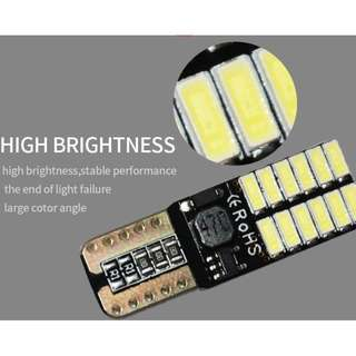 💦💥2018 Super bright Canbus Error Free T10 4014 24SMD💥💦
