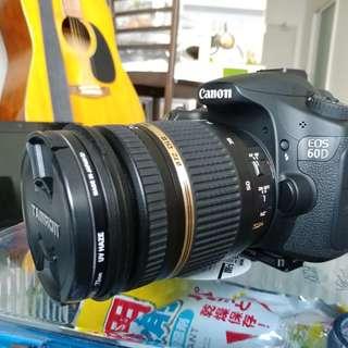 Canon 60D with Tamron 17-50 Di II F/2.8