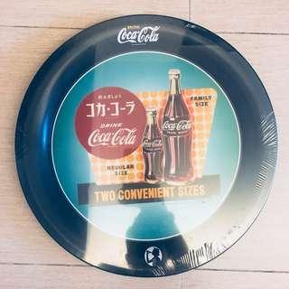 Coca Cola Tray 盤子 有包膠