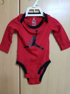 Brand New Nike Air Jordan long sleeve romper