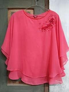 Blouse / Top Kalong Pink