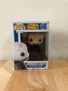 Funko Pop! Star Wars Unmasked Vader