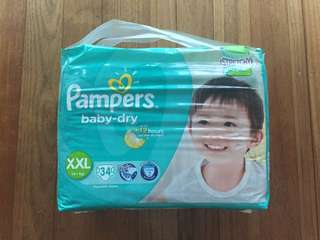 Pampers Baby Dry Stretch Tape