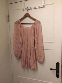 🚚 全新粉色洋裝