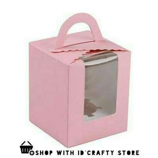 inStock Pink Cupcake Boxes