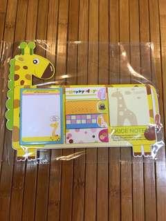 Giraffe post-it SKICE notes (min order 12pcs)