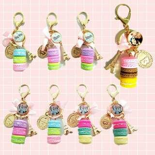 Customized Macaron Keychains