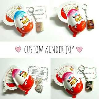 Customized kinder joy surprise