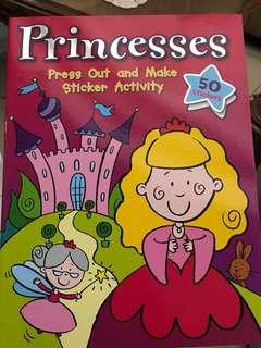 Princess Sticker Activity