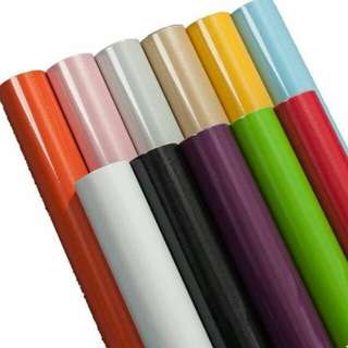 5m high gloss sticker contact paper waterproof