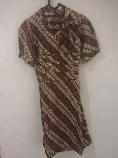 Reprice shay!  Batik Dress L Pekalongan