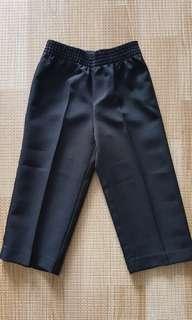 Boy Suit pants, black, 18mo.