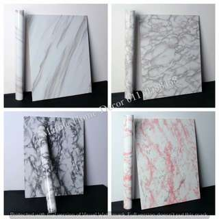 5m marble sticker contact paper waterproof