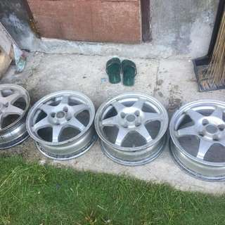 "Set of rims 14"" toyota"