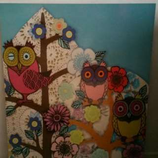 Picture Frame - Owl