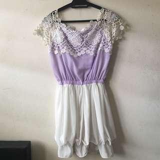 Sweet purple dress