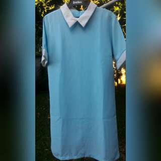 Blue Collar Dress