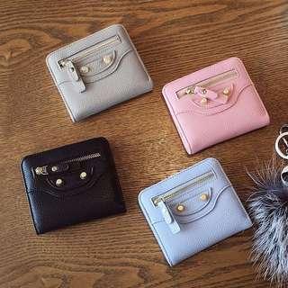 <3weeks PO> Korean mini slim zipper wallet