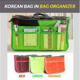 Korean Bag Organizer