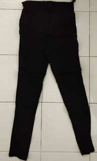 Pregnant lady slim skinny long pants #julypayday