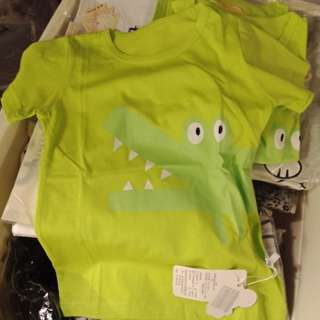 Kids crocodile t-shirt