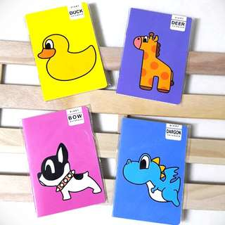 Cute Animals 02 Mini Notebook