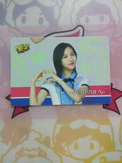 Twice Mina夜光卡