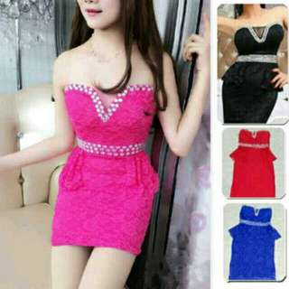 Dress kemben sexy diamond two mounth
