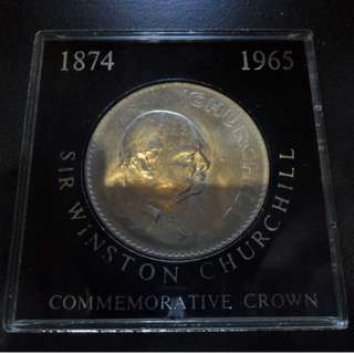 UK 1874- 1965 Sir Winson Churchill Commemorative Crown